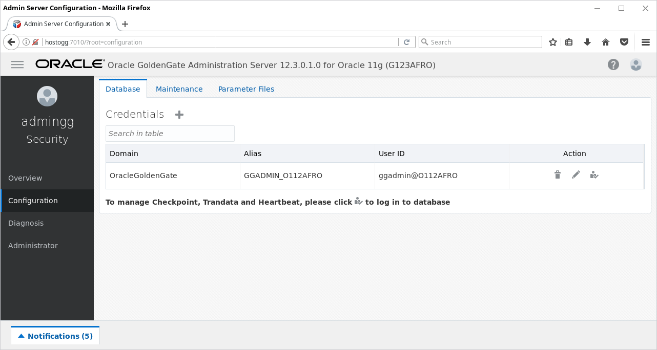 Oracle Goldengate Microservices Architecture 12 3 Quick